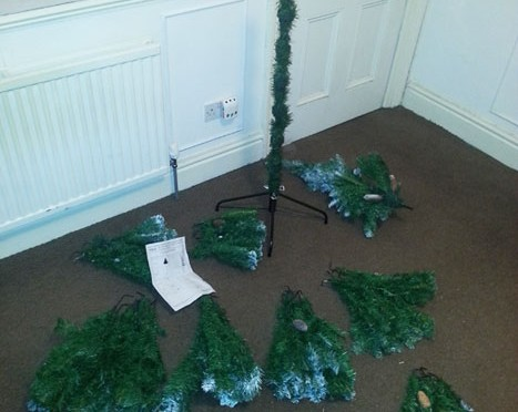 Xmas tree. The making of…