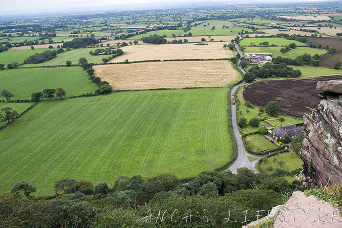 Beeston Castle views