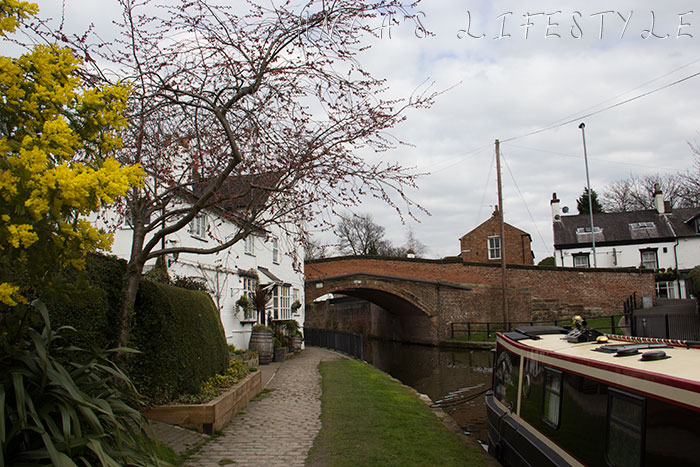 Lymm picturesque small village in Cheshire