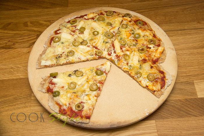 10 Halloumi pizza