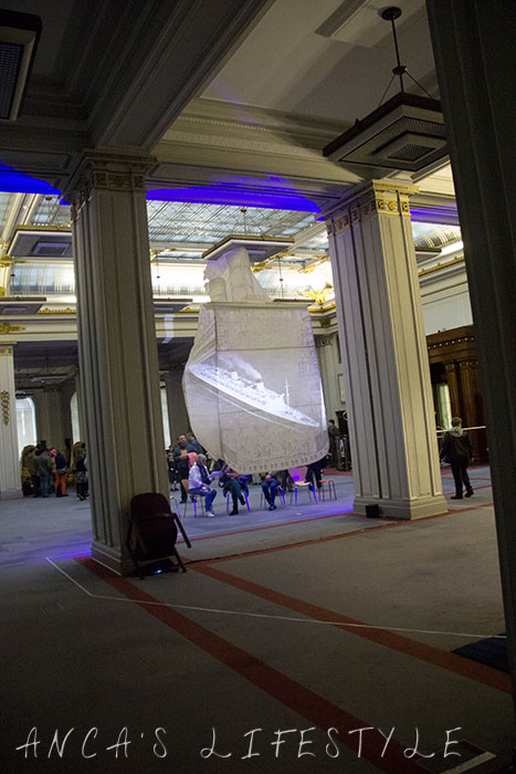 Cunard Building LightNight Liverpool 2015 Review