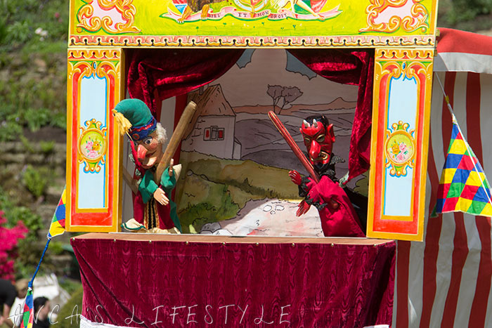 13 Victorian May Day at Quarry Bank National Trust Punch and Judy