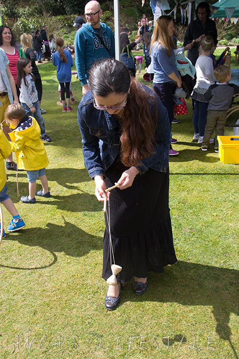 15 Victorian May Day at Quarry Bank National Trust wooden victorian games and toys