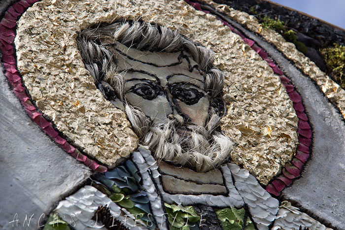 03 Well dressing Stoney Middleton Derbyshire