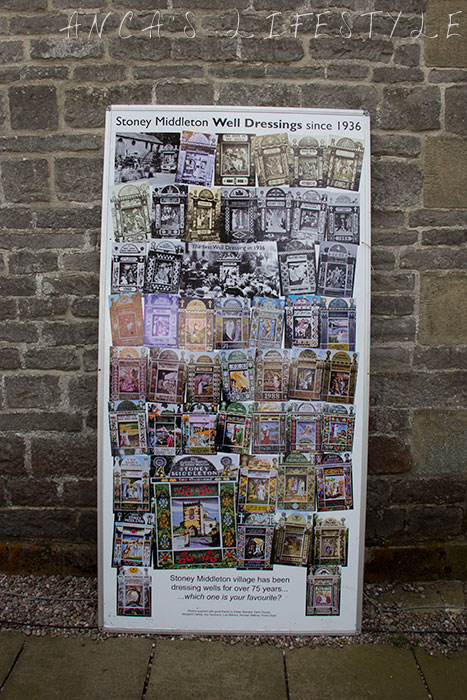 10 Well dressing Stoney Middleton Derbyshire