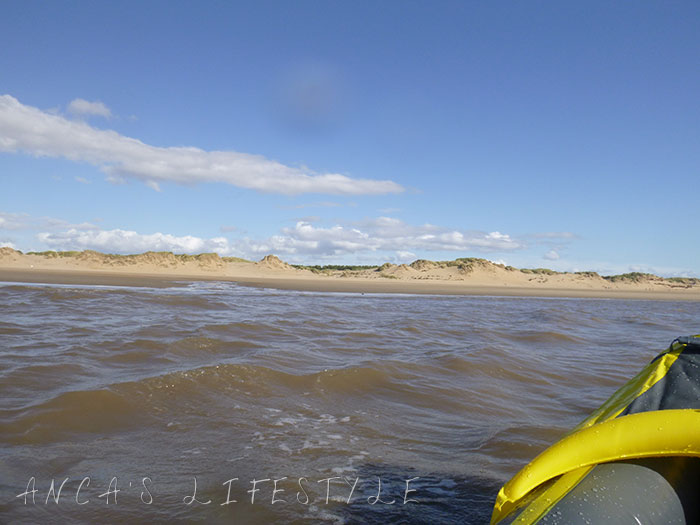 12 Sea Kayaking for the first time