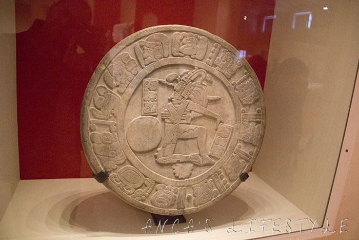 The Maya ball games at Liverpool Museum. Chinkultik Disc