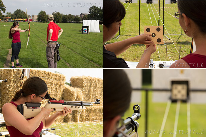 Archery and shooting as unusual hobbies