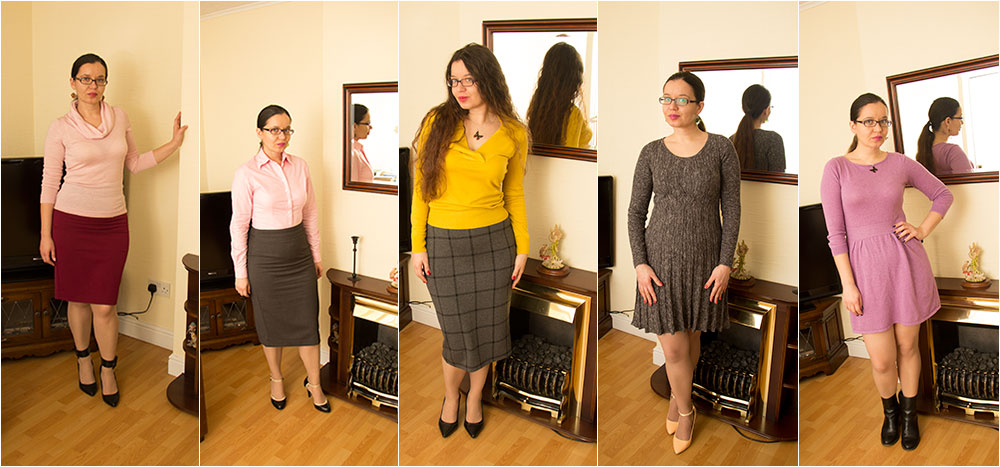 5 outfits for work