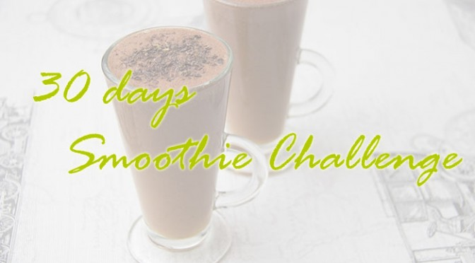 30 days Smoothie Challenge
