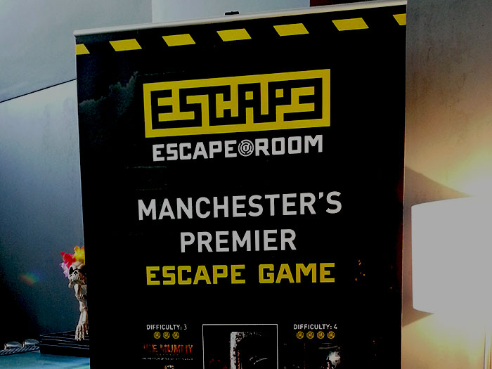 The Escape Room Manchester Secret Lab