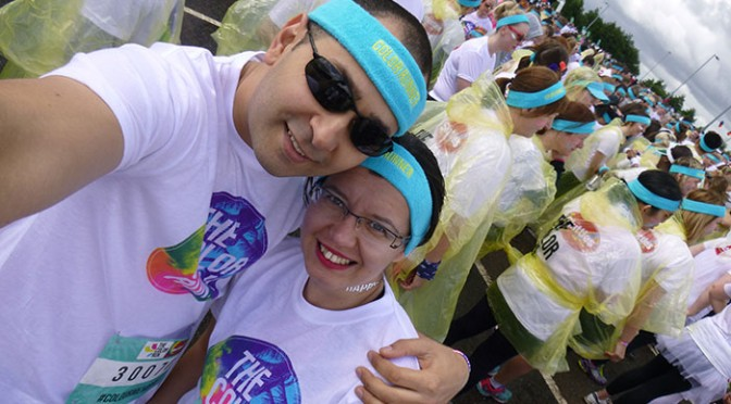 01 Color run Manchester 2016