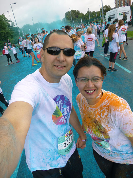 11 Color run Manchester 2016