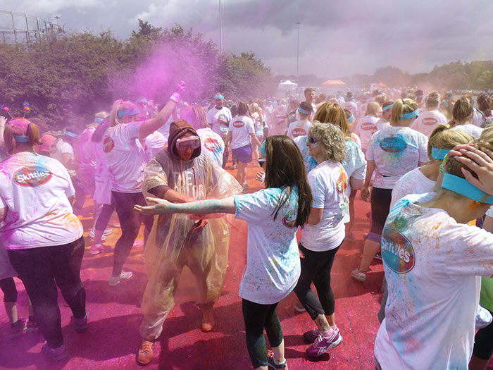 13 Color run Manchester 2016