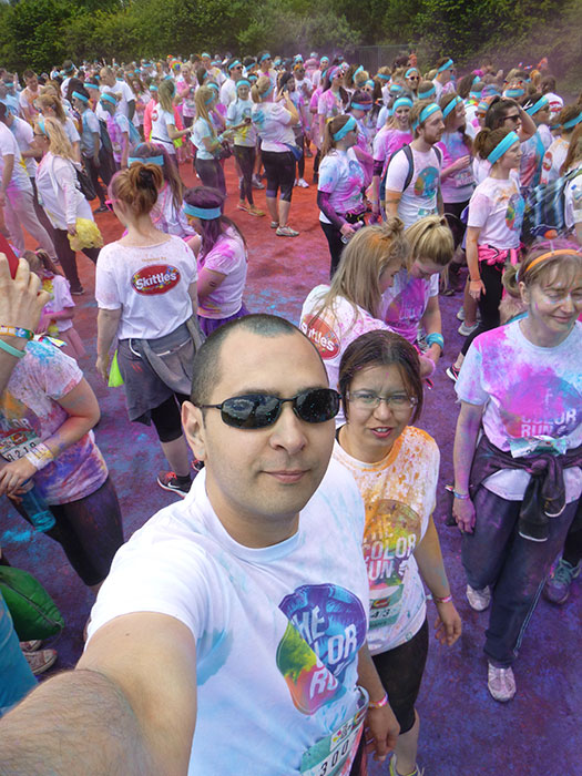 14 Color run Manchester 2016