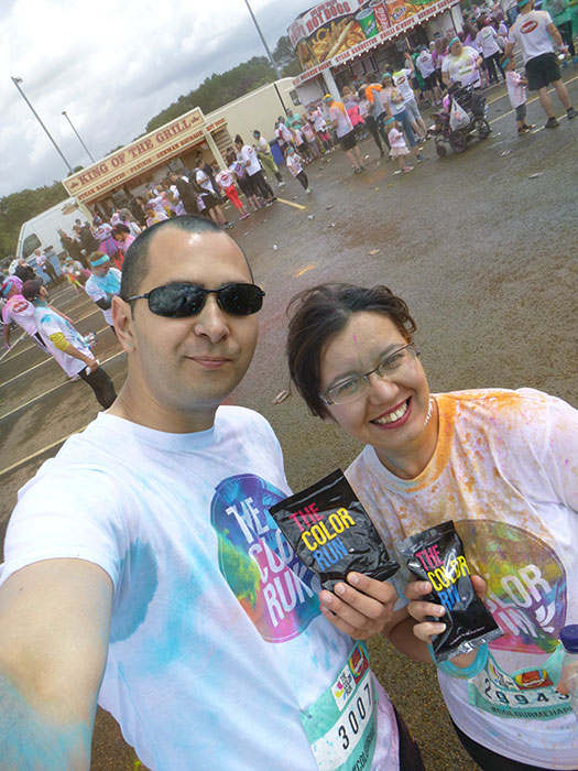 15 Color run Manchester 2016