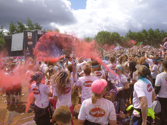 16 Color run Manchester 2016