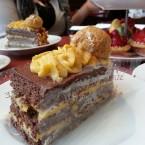 Special cake at Patisserie Valerie
