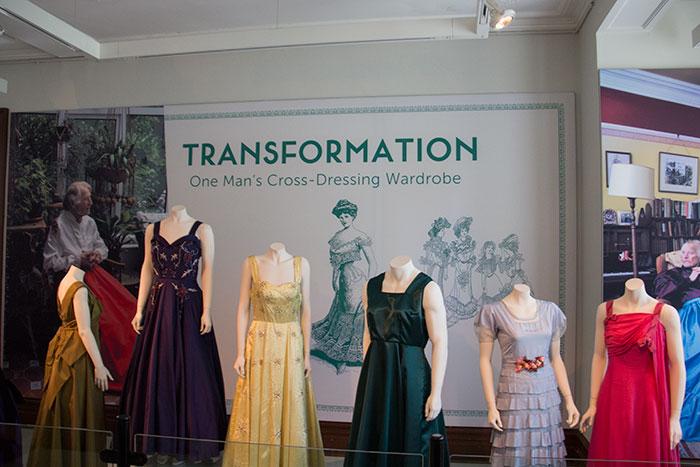Transformation - One Man's Cross-Dressing Wardrobe