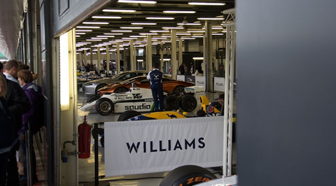 40th anniversary of Williams at Silverstone