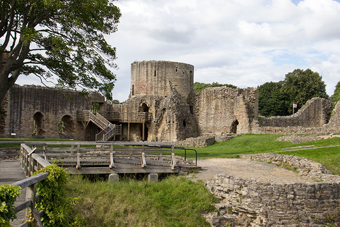 Barnard Castle in Teesdale, County Durham