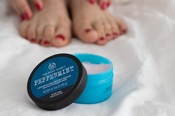 Peppermint Intensive Cooling Foot Rescue The Body Shop