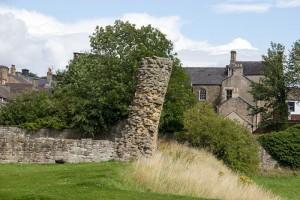 Barnard Castle in Teesdale, County Durham
