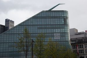 National Football Museum seen from outside