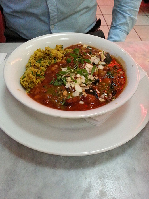 Tagine dish at Café Rouge at intu Trafford Centre