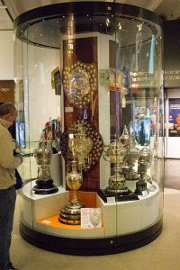 Cups and trophies at National Football Museum