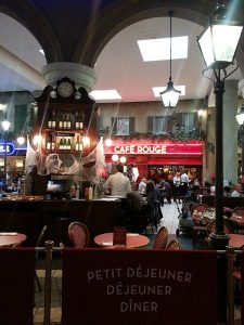 Café Rouge at intu Trafford Centre. Picture from outside