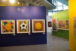 Artwork at the Special exhibition
