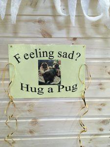 Hug a Pug poster