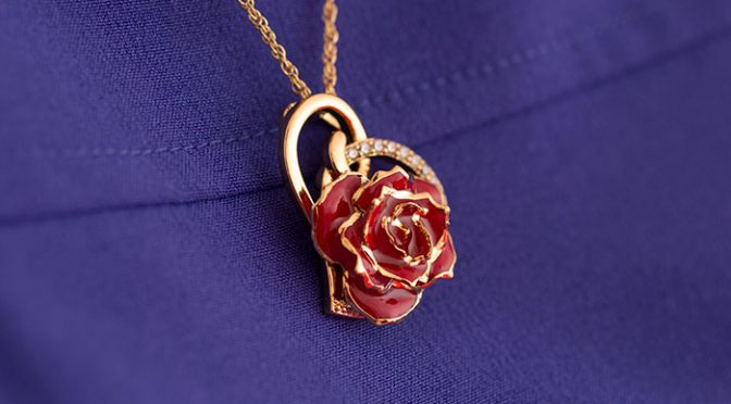Rose Necklace by The Eternity Rose
