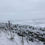 Snow in Peak District