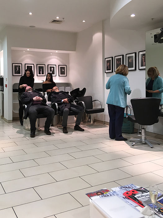 hair treatment - washing