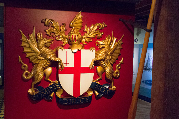 Museum of London Docklands, coat of arms