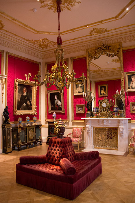 Room at Wallace Collection, London