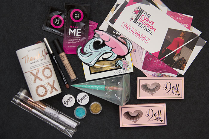 Celebrity MUA Masterclass Goody Bag