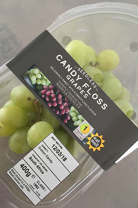 Candy Floss Grapes