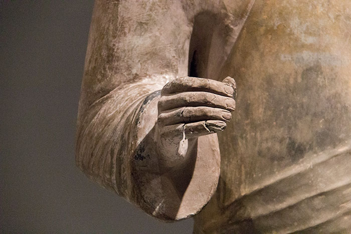 Hand of a terracotta warrior