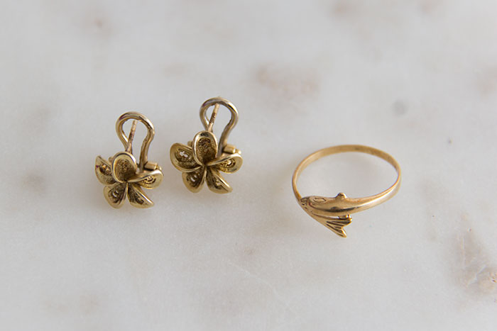 My favourite pieces of jewellery - gold pieces