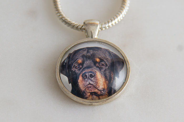 My favourite pieces of jewellery - my dog pendant
