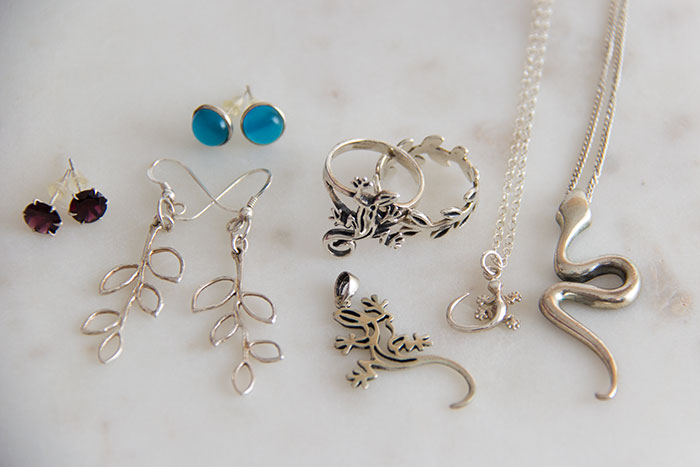 My favourite pieces of jewellery - silver pieces