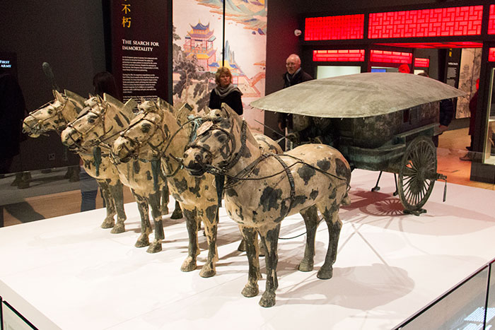 The Terracotta Warriors chariot