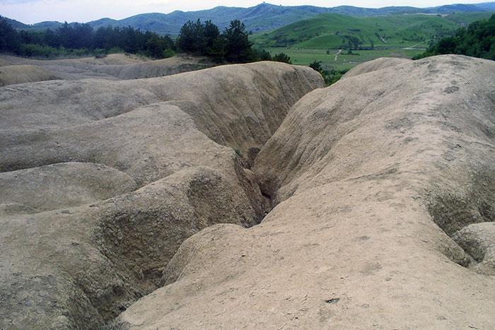 Vulcanii Noroiosi in Buzau, Romania