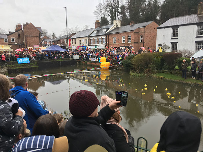 Easter and Lymm Duck Race 2018