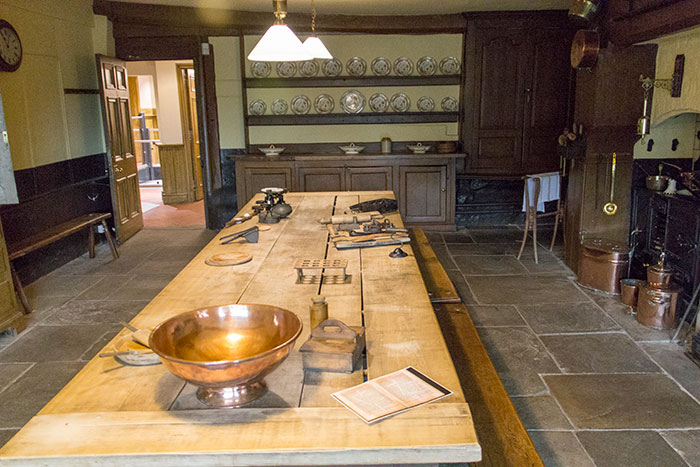Kitchen at Bramall Hall