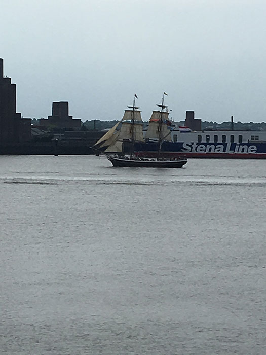 Tall Ships Regatta. Tall Ship on Mersey