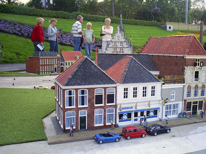 Houses in Madurodam